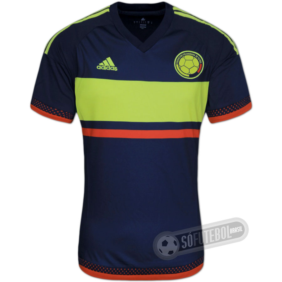 2a25357613 Camisa Colômbia - Modelo II. Carregando.