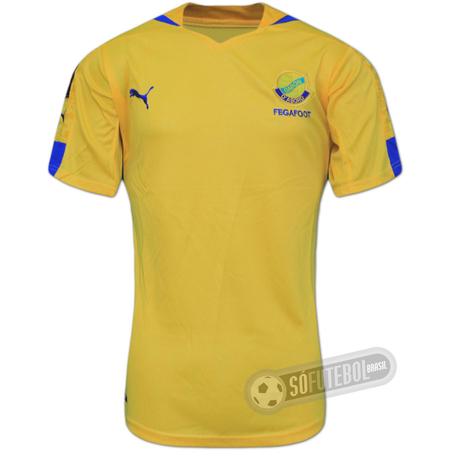 986fe9e422 Camisa Gabão - Modelo I. Carregando.