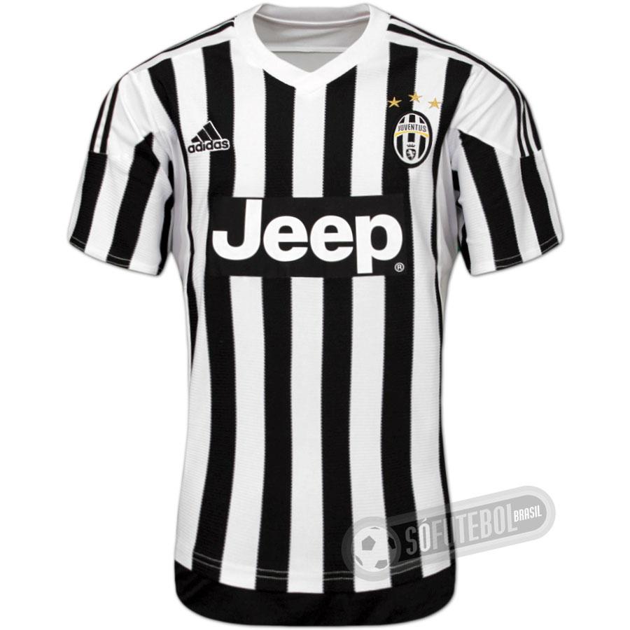 Camisa Juventus - Modelo I. Carregando. ffe70d8b98b93