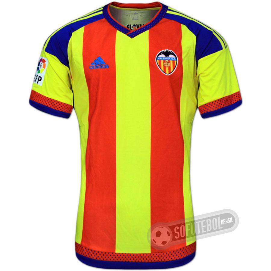 Camisa Valencia - Modelo III (Bandera Senyera) c999bd372fc39