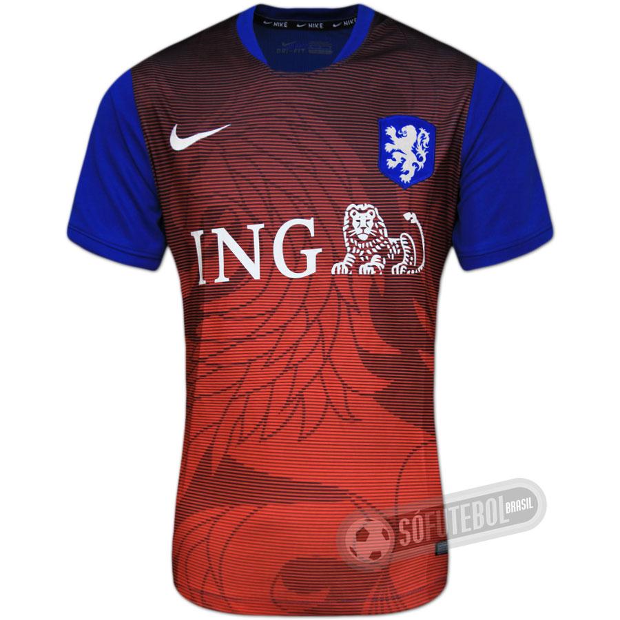 9aa0b0c53a Camisa Holanda - Treino