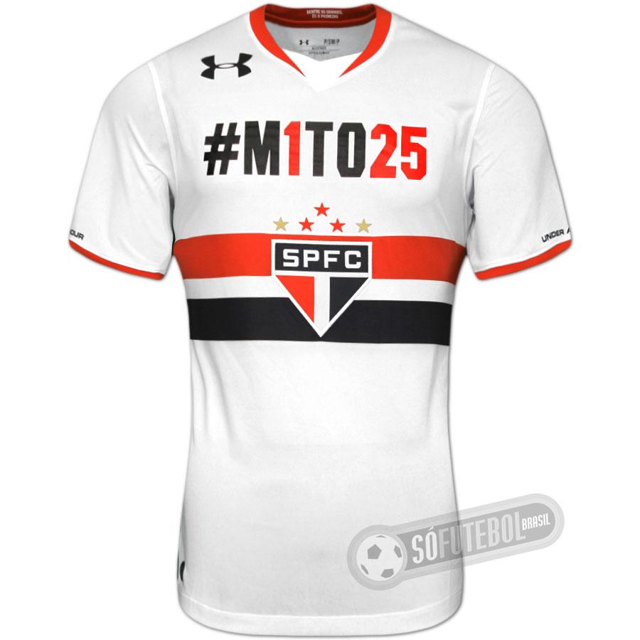 cdfbc9ed4a Camisa São Paulo - Modelo I ( M1TO25). Carregando.