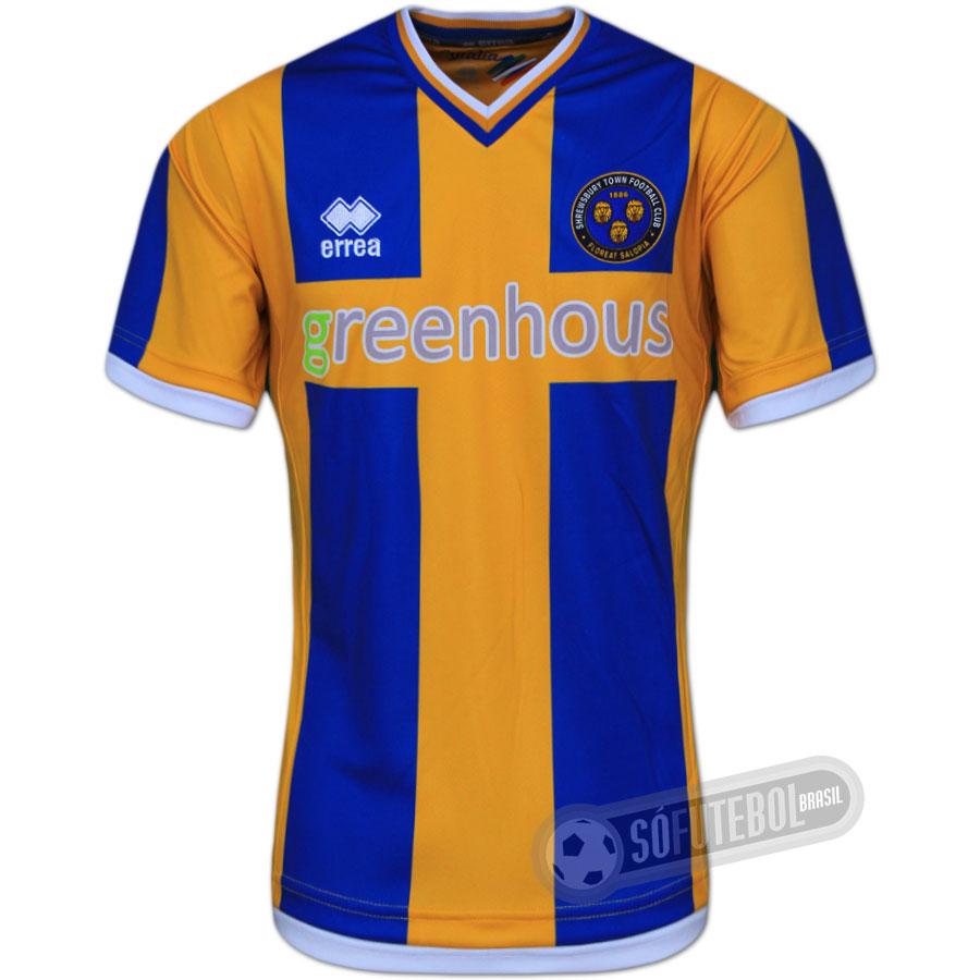Camisa Shrewsbury Town - Modelo I aef5351dad0