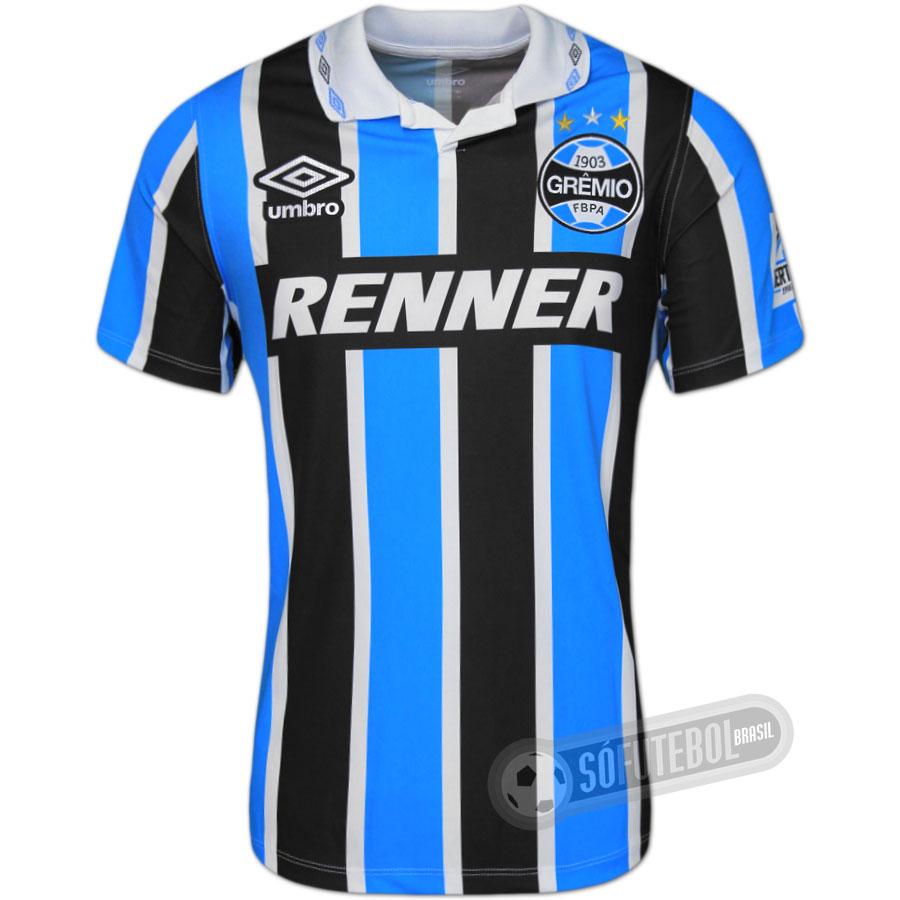 Camisa Grêmio 1995 - Modelo I (Bi-Libertadores). Carregando. 720fedb600b58