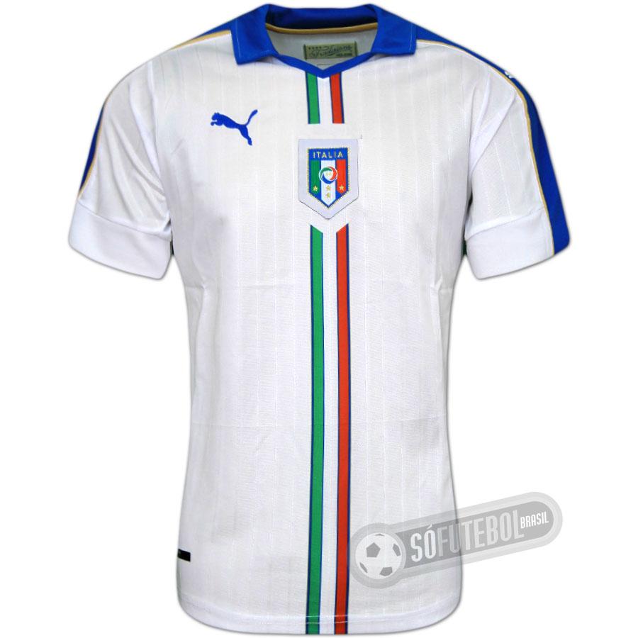 Camisa Itália - Modelo II. Carregando. 14ba2a635052e