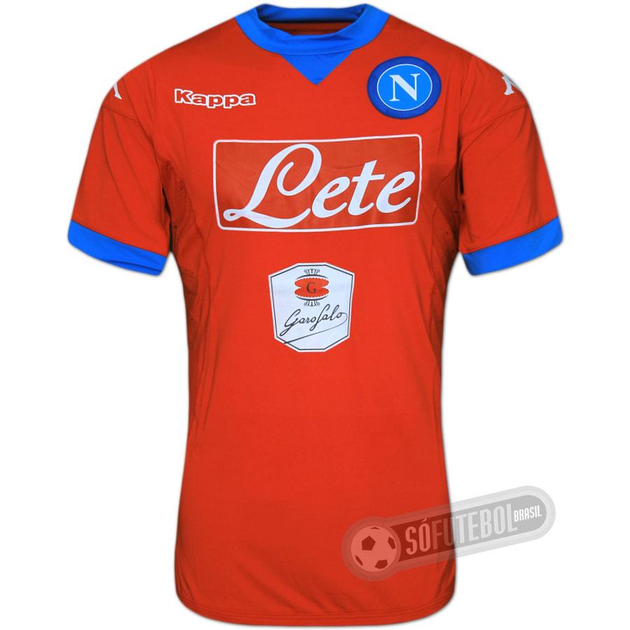 Camisa Napoli - Modelo III. Carregando. e7c53441b9467