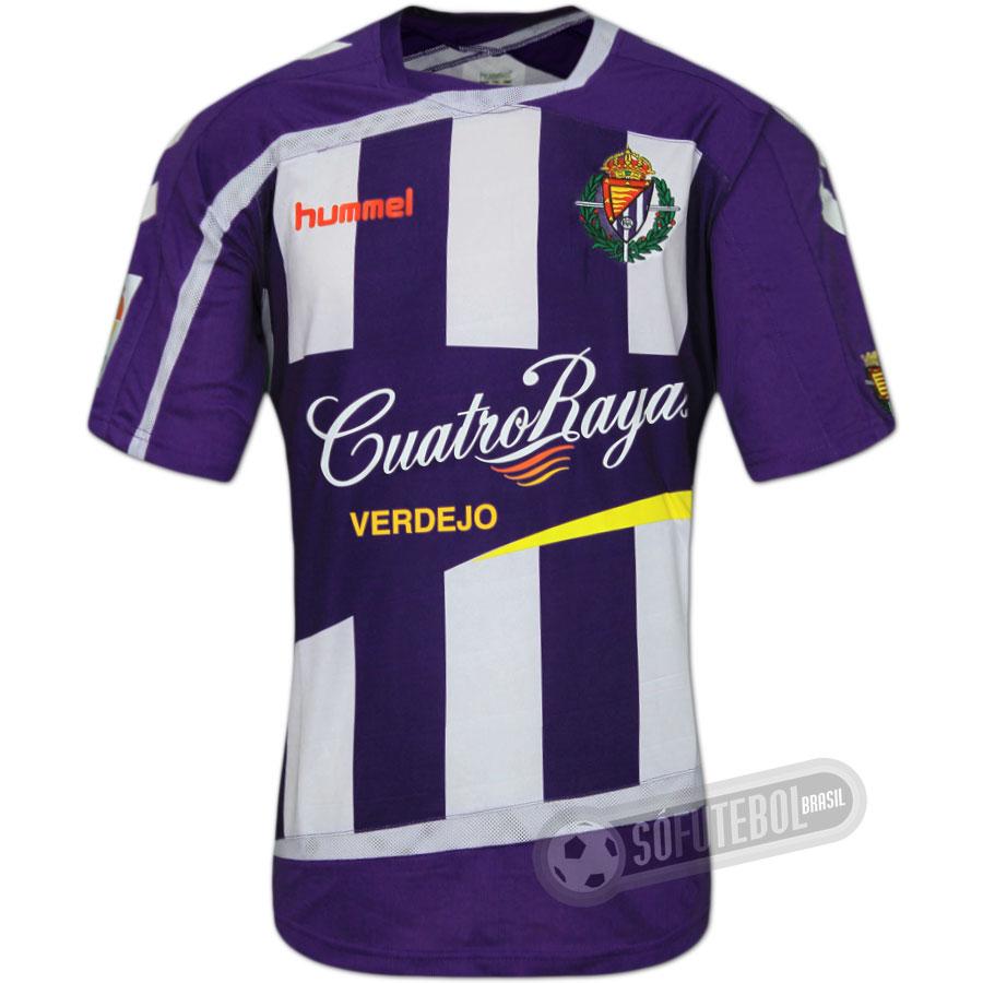Camisa Real Valladolid - Modelo I. Carregando. a9820c07f79d6