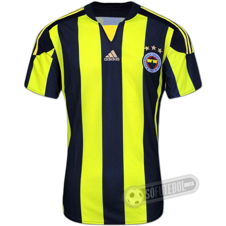 Camisa Fenerbahçe - Modelo I e970aa2239f5e