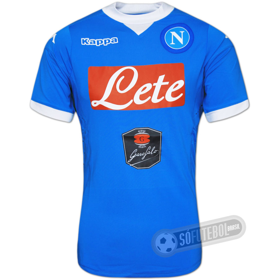 Camisa Napoli - Modelo I f2fc860a20624
