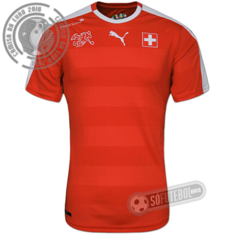 cb7b053ab9 Camisa Suíça - Modelo I