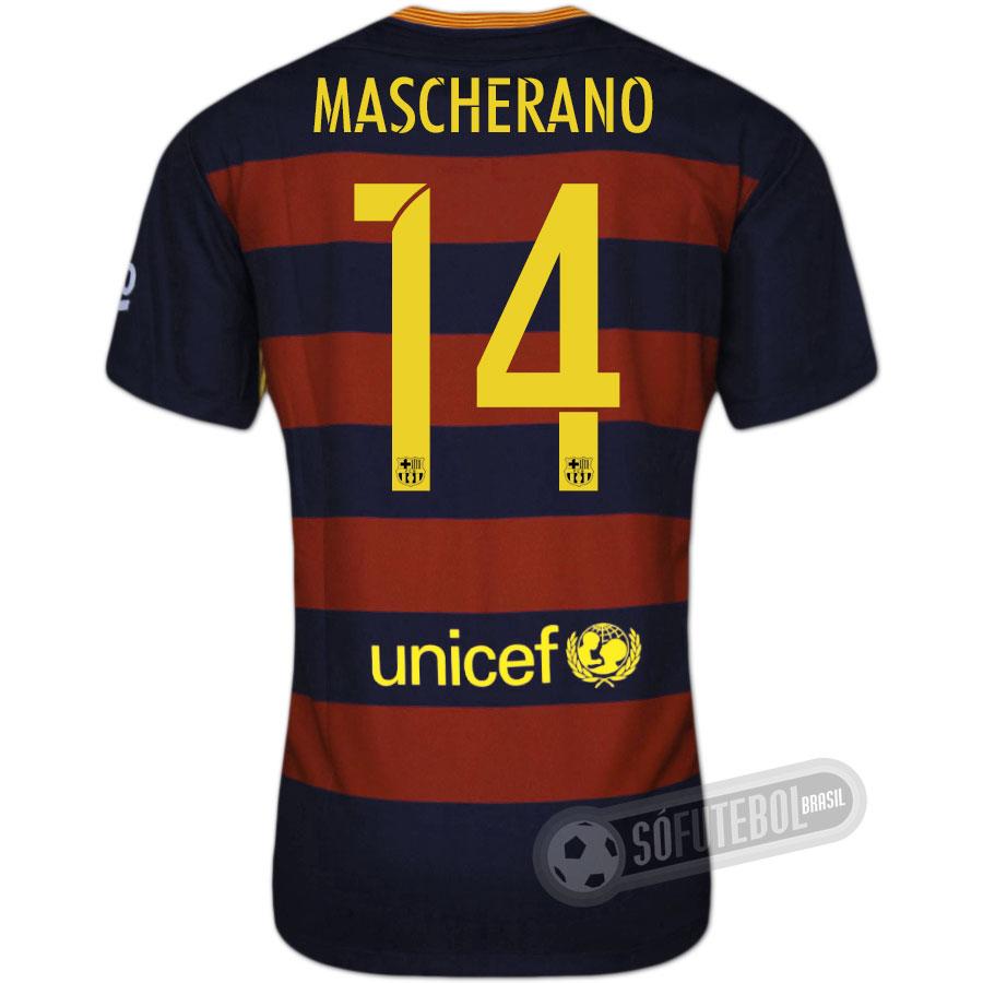 7aca3dab2add0 Camisa Barcelona - Modelo I - MASCHERANO  14
