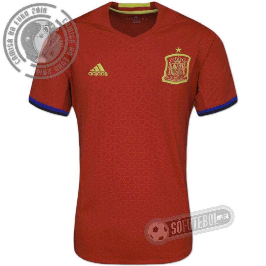 50f7e02738 Camisa Espanha - Modelo I. Carregando.