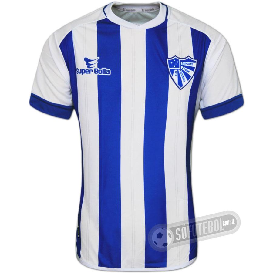 Camisa Cruzeiro de Cachoeirinha - Modelo I. Carregando. c64a5507b3921