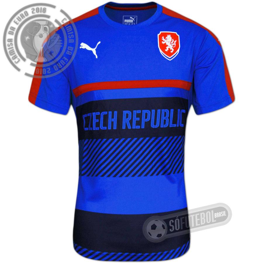 Camisa República Tcheca - Treino. Carregando. 5d9fa414e396c