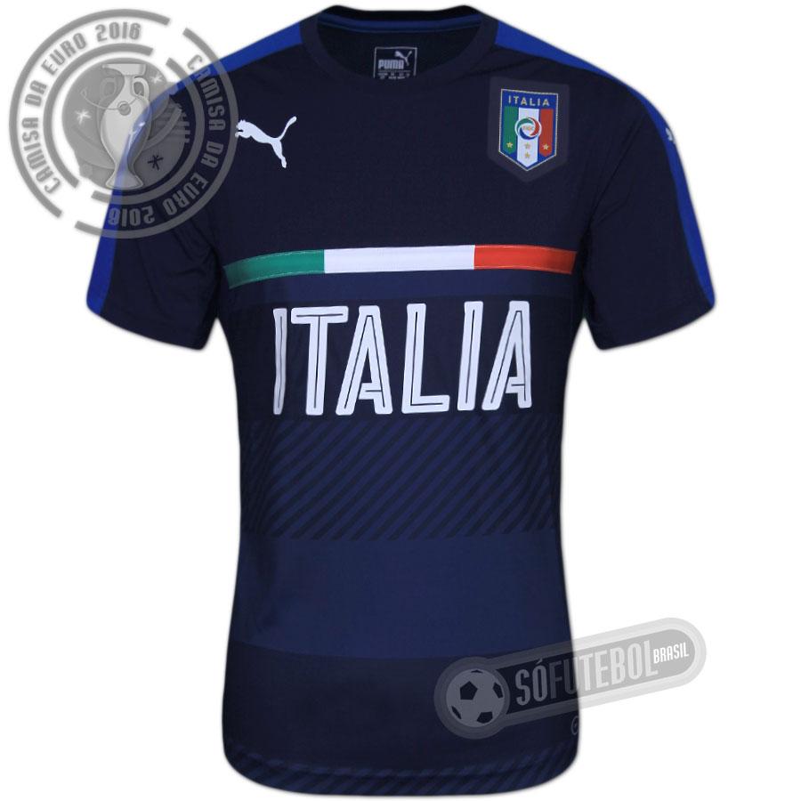 Camisa Itália - Treino. Carregando. e882624098f85