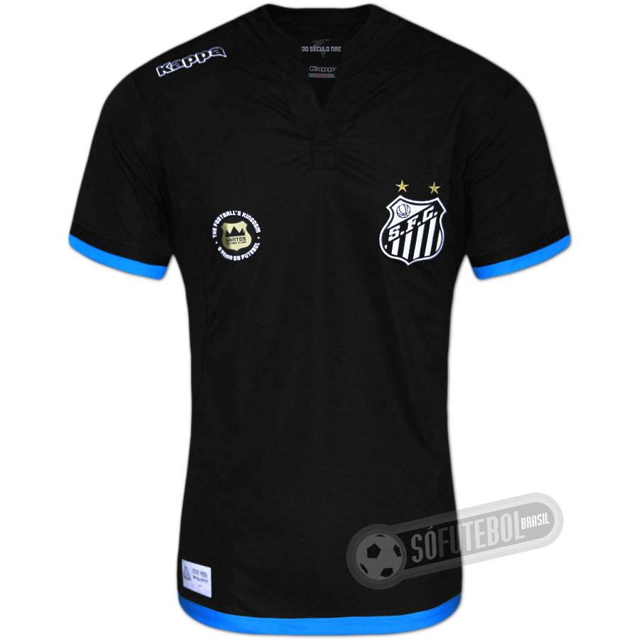 Camisa Santos - Goleiro 806da6a120ae5