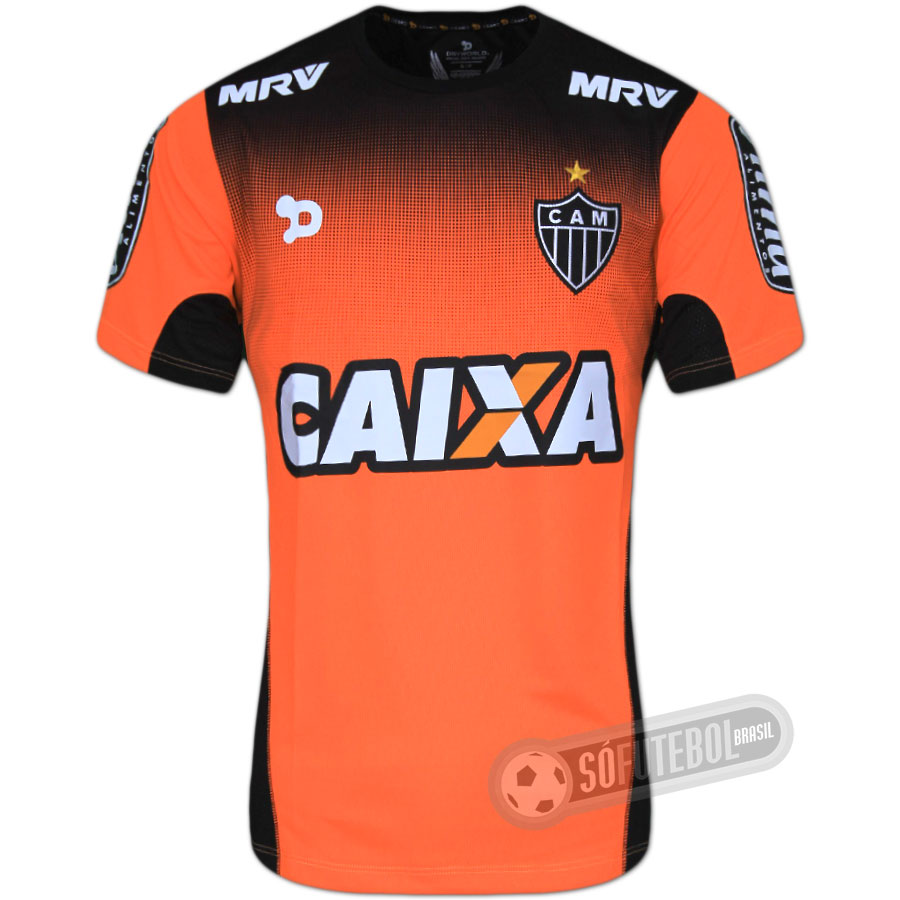 Camisa Atlético Mineiro - Treino. Carregando. cab825af1bbaa
