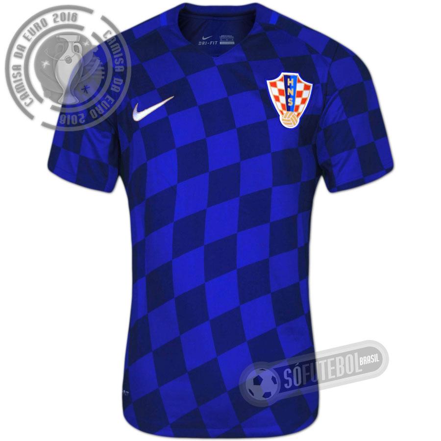Camisa Croácia - Modelo II f3c68494b0f30