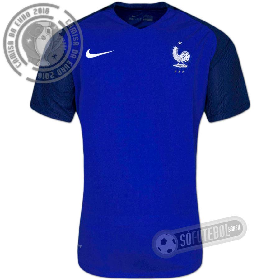 Camisa França - Modelo I. Carregando. 8878fc94ffb9c