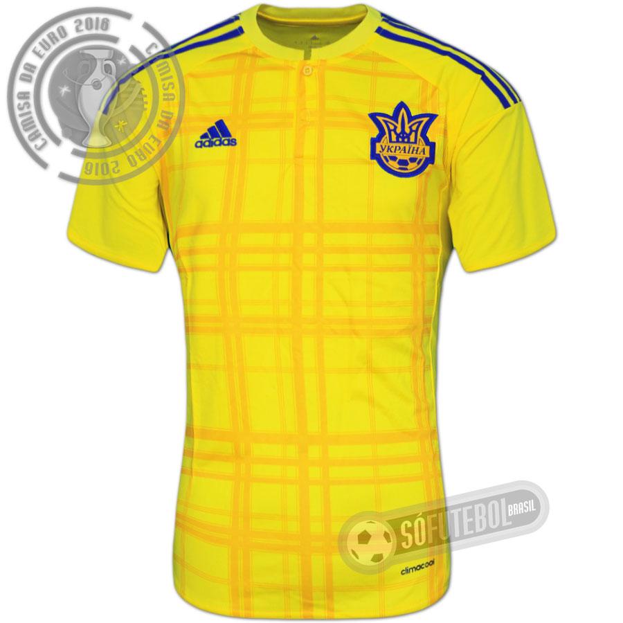 Camisa Ucrânia - Modelo I. Carregando. 0523beb812afd