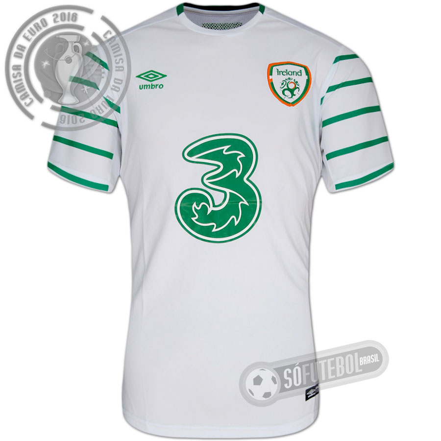 8261b081fd Camisa Irlanda - Modelo II. Carregando.