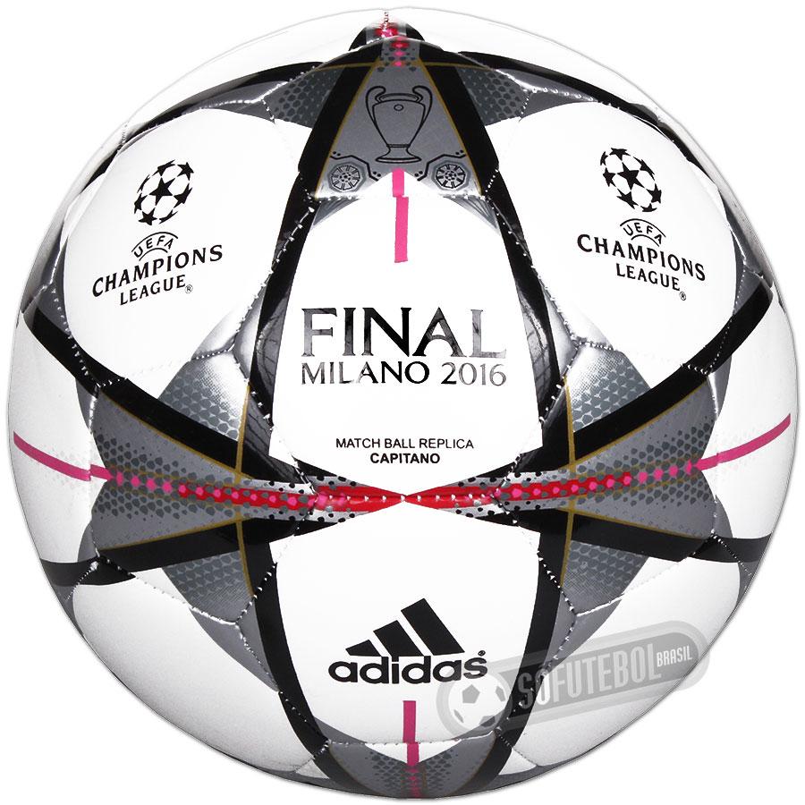 Bola Adidas UEFA Champions League 2015   2016 Finale Milano - Capitano  Réplica a207aa7430e4f
