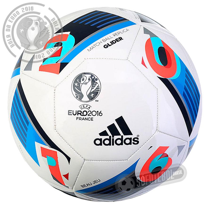 4c7a276681 Bola Adidas UEFA Euro 2016 - Glider Réplica. Carregando.