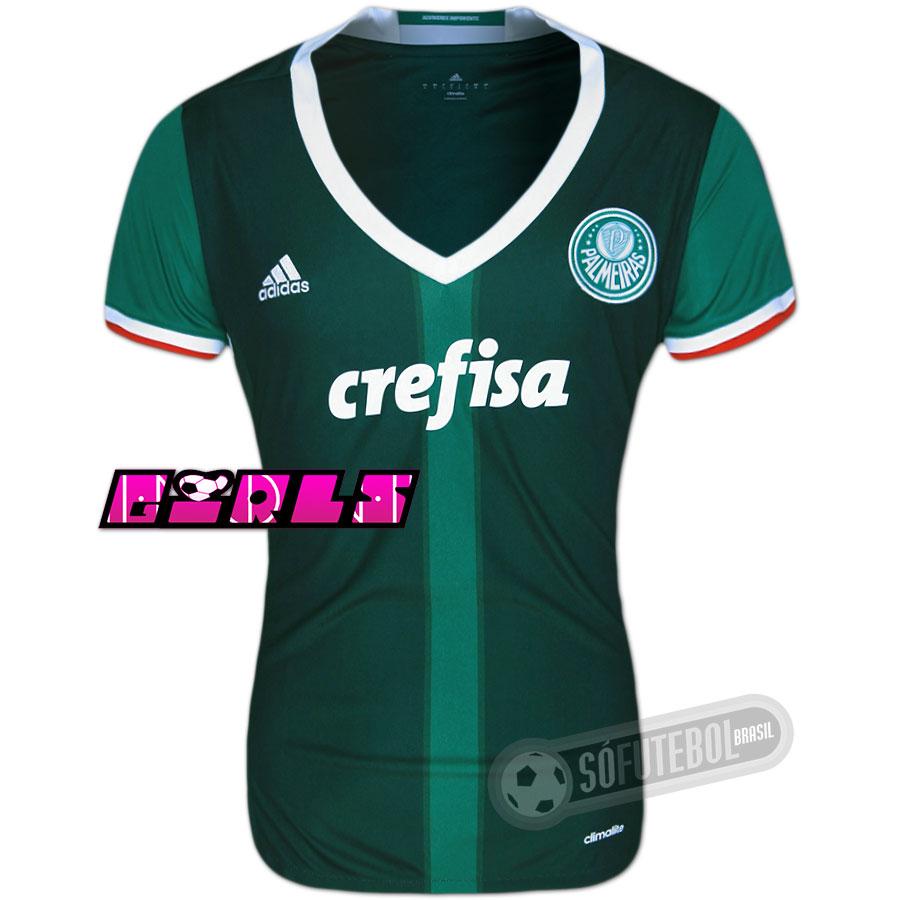 0dfff1a17f813 Camisa Palmeiras - Modelo I Feminina. Carregando.