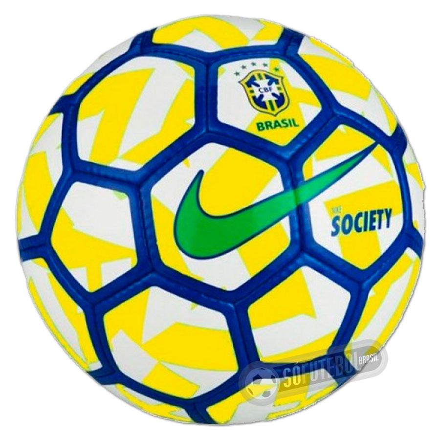 ca2c775e8ada8 Bola Nike Society CBF 2016 (Campeonato Brasileiro)