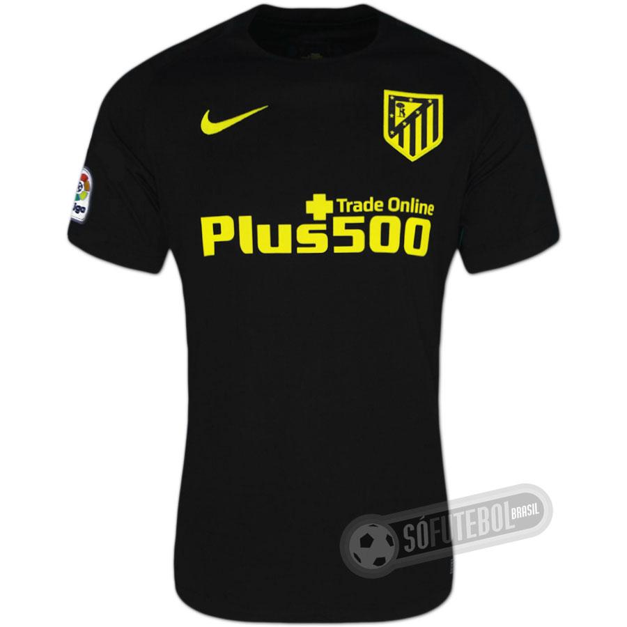 Camisa Atlético de Madrid - Modelo II. Carregando. f113af888cd09