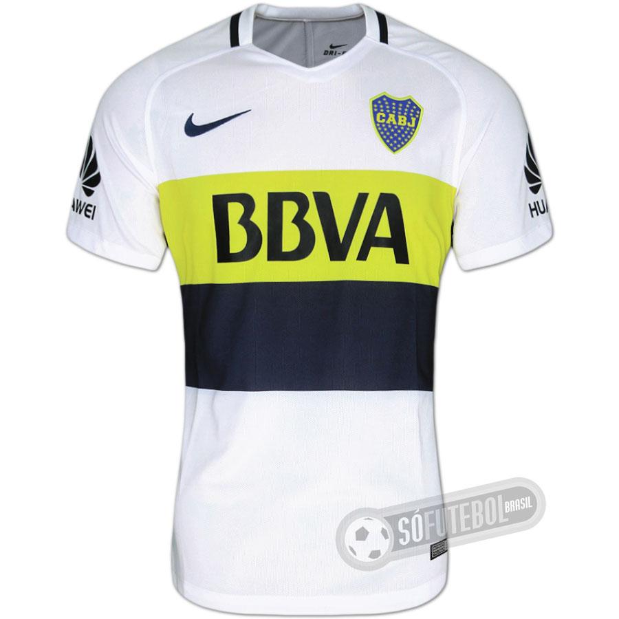 6b047fd94 Camisa Boca Juniors - Modelo II. Carregando.