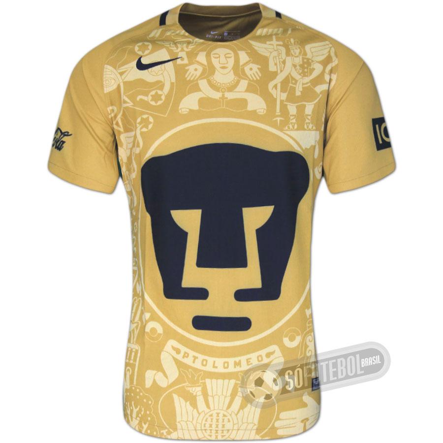 2d7160f8df Camisa UNAM Pumas - Modelo I. Carregando.
