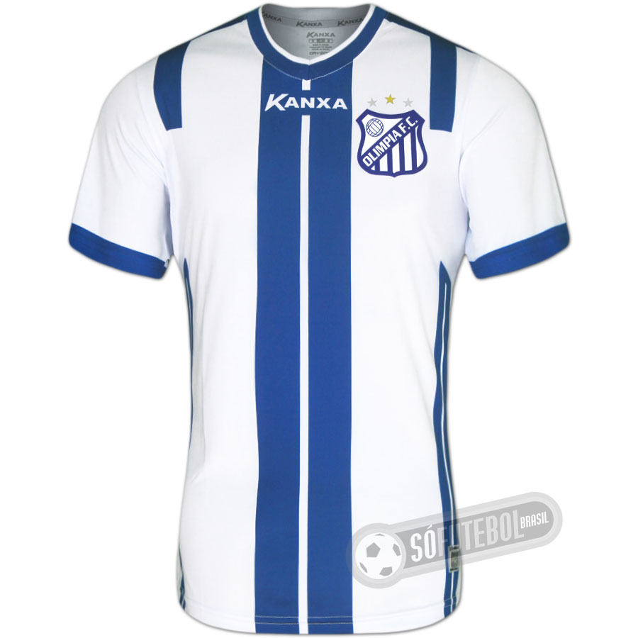 Camisa Olímpia - Modelo II 3343e53777f5c
