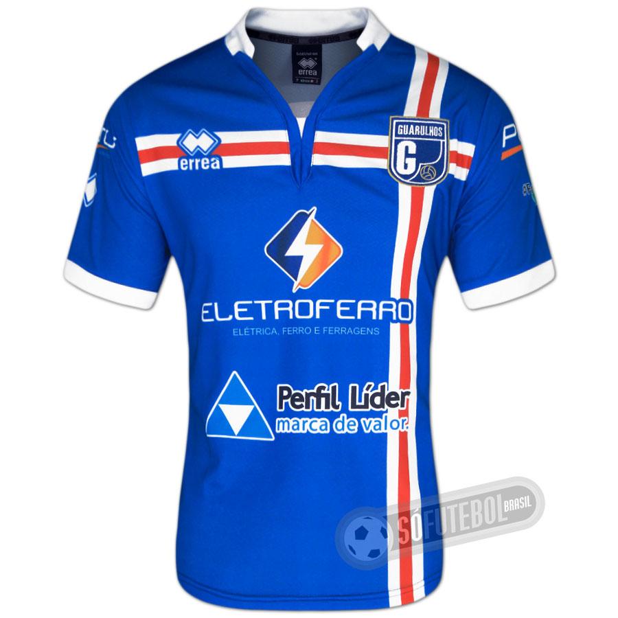 Camisa Desportiva Guarulhos - Modelo I 2c82f01803f20