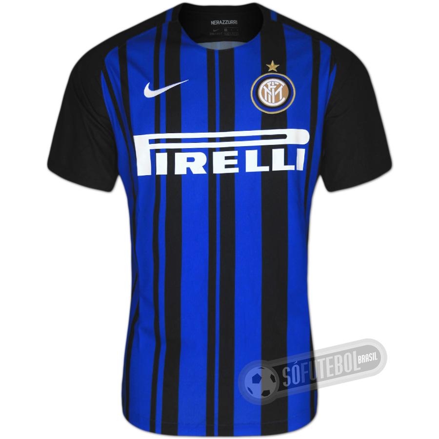 bd0d575dc Camisa Inter de Milão - Modelo I