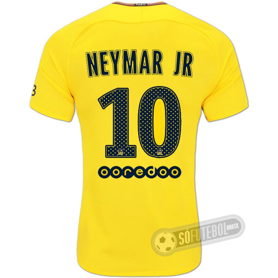 02fa3fab5 Camisa PSG (Paris Saint Germain) - Modelo II (NEYMAR JR  10)