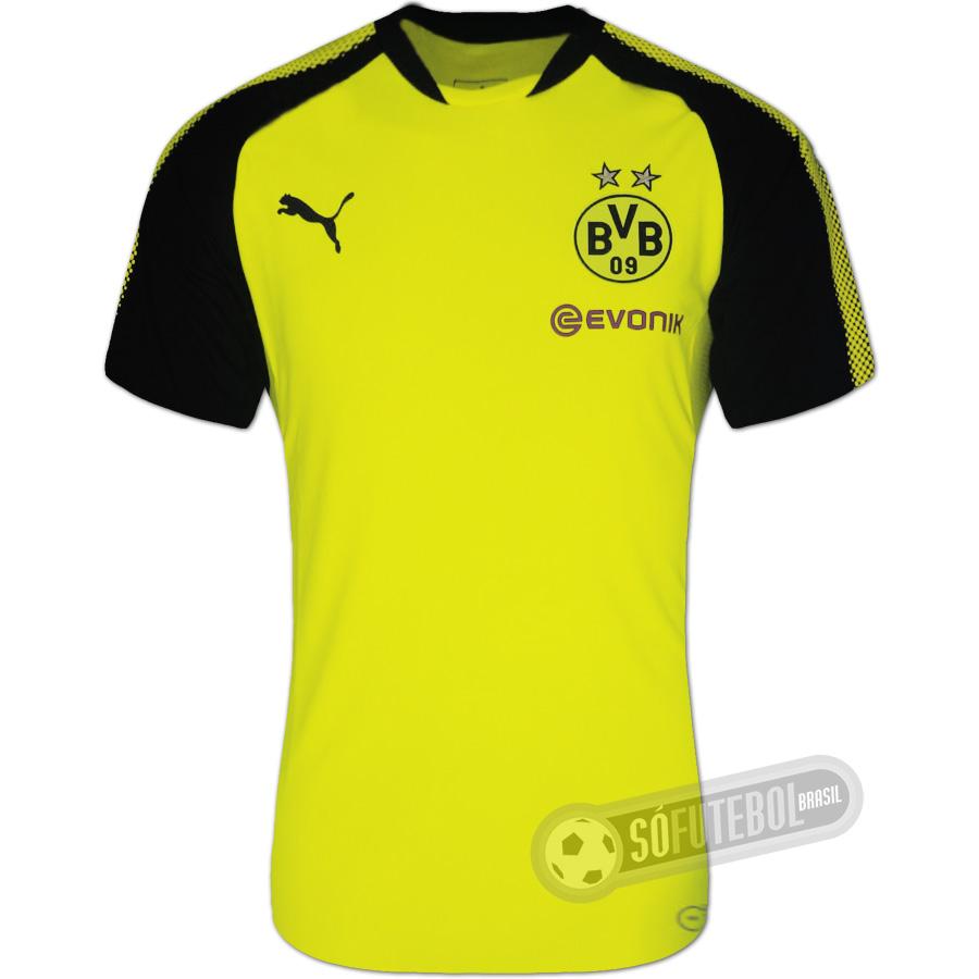 Camisa Borussia Dortmund - Treino. Carregando. 518caf4ee2281