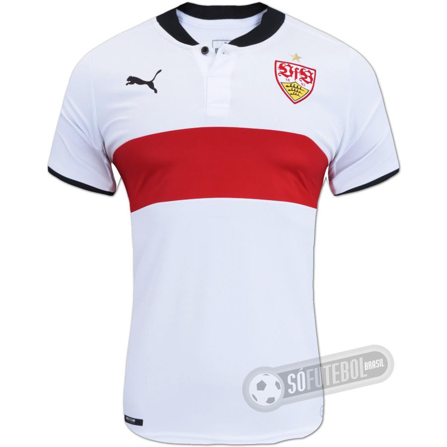 Camisa Stuttgart - Modelo I. Carregando. 3386fda23b114