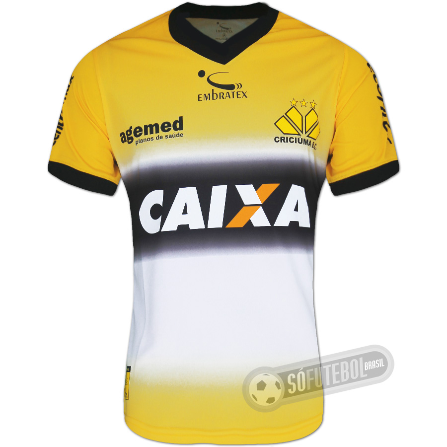 3181c8312 Camisa Criciúma - Modelo I. Carregando.