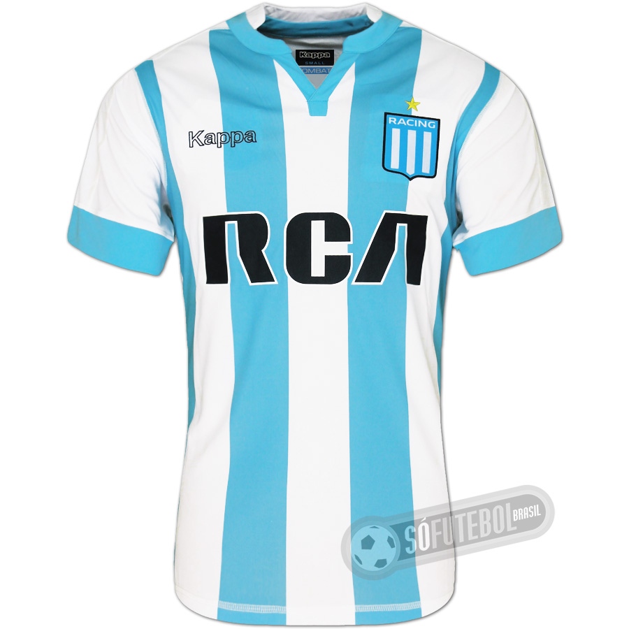 Camisa Racing Club de Avellaneda - Modelo I. Carregando. 9ef95391ee024