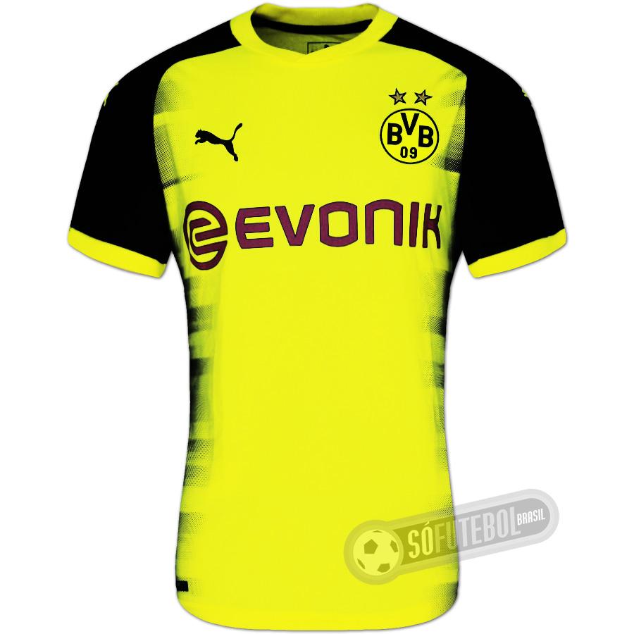 c22335c23 Camisa Borussia Dortmund - Modelo III. Carregando.