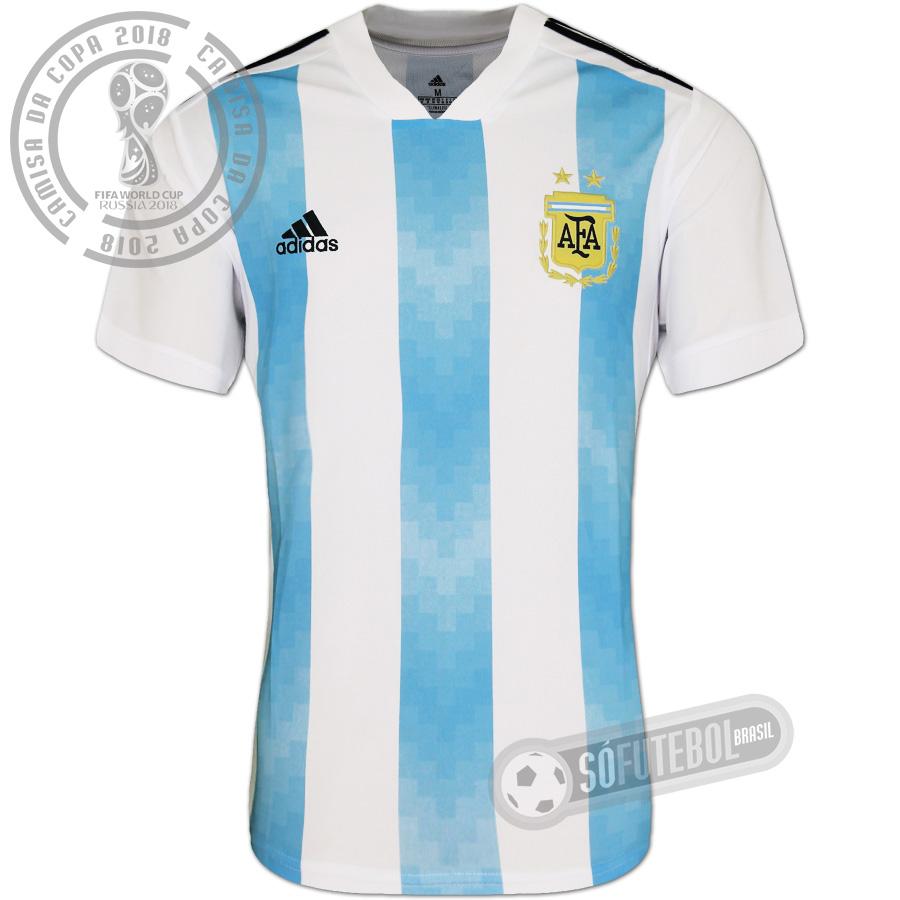 Camisa Argentina - Modelo I 1704aa148ed80