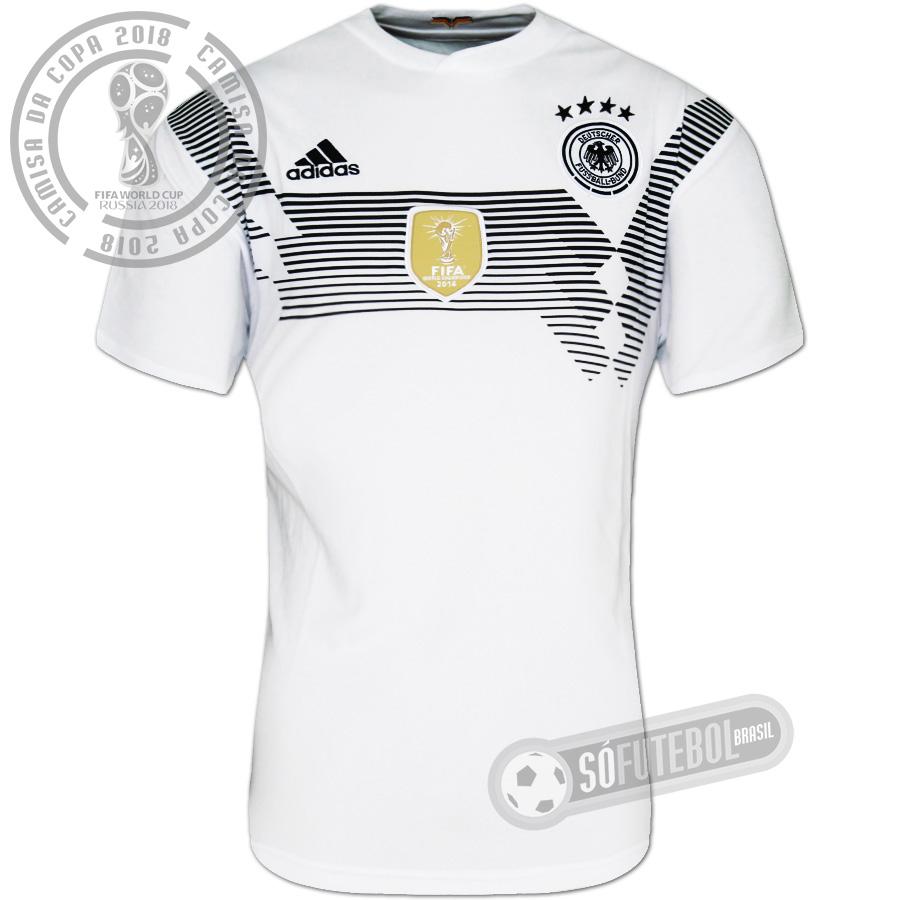 Camisa Alemanha - Modelo I. Carregando. 64c125bcdae08
