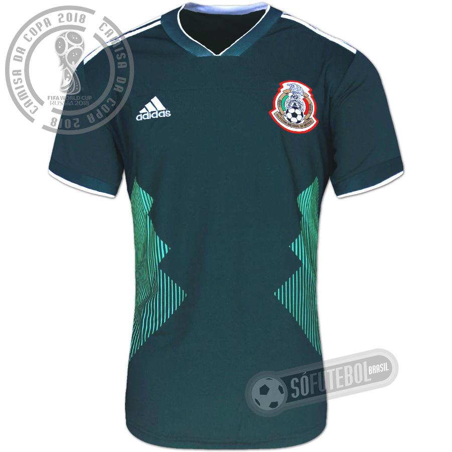 784658d46f Camisa México - Modelo I. Carregando.