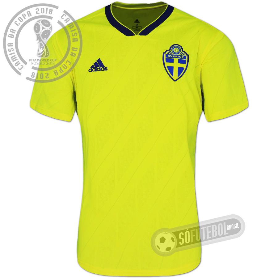 Camisa Suécia - Modelo I c52a59f9716d9
