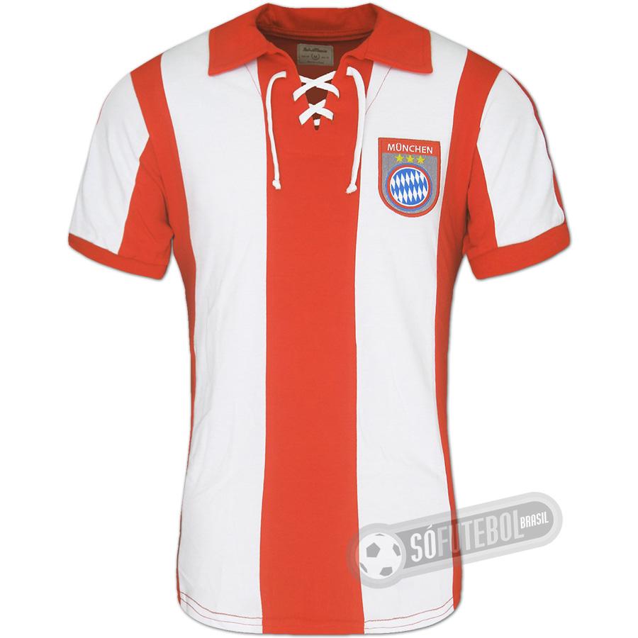 Camisa Bayern München 1969 - Modelo I. Carregando. 2377efd51d59e