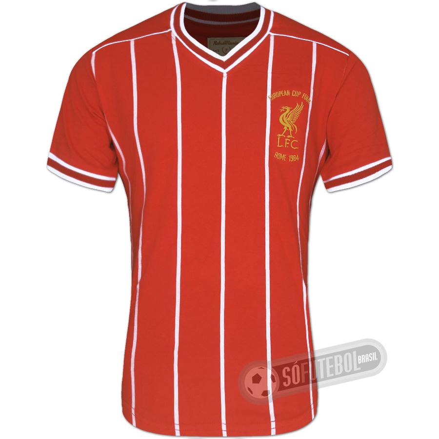b2280c0fbb Camisa Liverpool 1984 - Modelo I