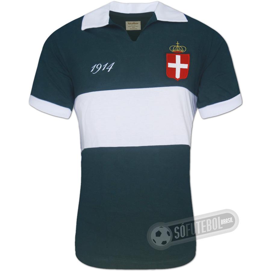 Camisa Palestra Itália 1914 - Modelo I. Carregando. 847b7de2e61c7