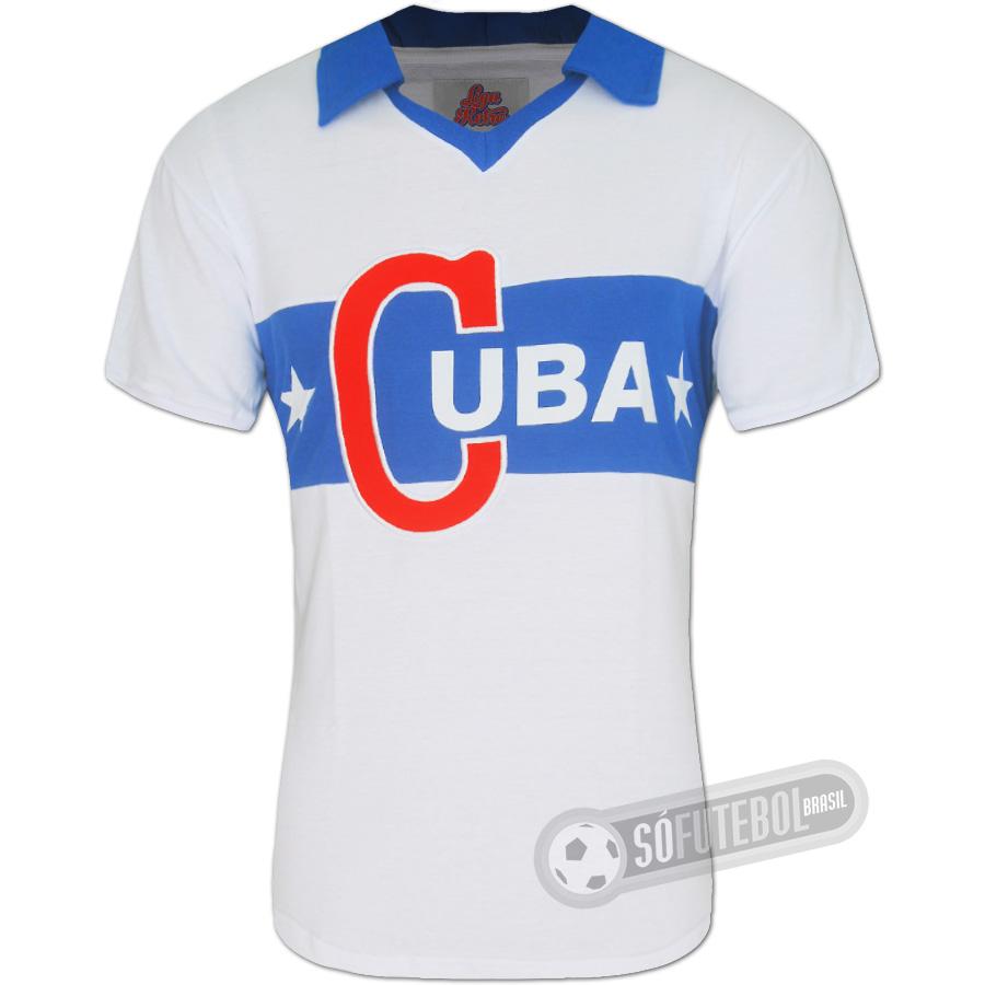 Camisa Cuba 1962 - Modelo I. Carregando. e52e544f832b0