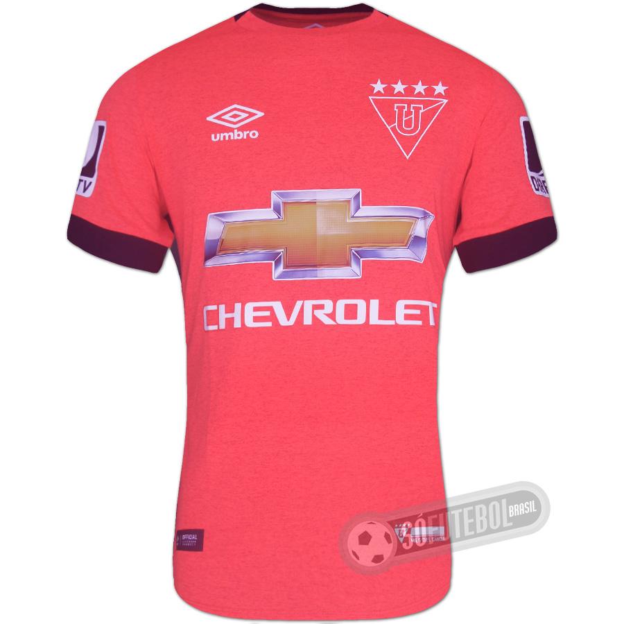 Camisa LDU (Liga Deportiva Universitaria) - Modelo III. Carregando. 61f72fb9c0792